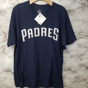 San Diego Padres Mens Tshirt Sz L New #3 Richard